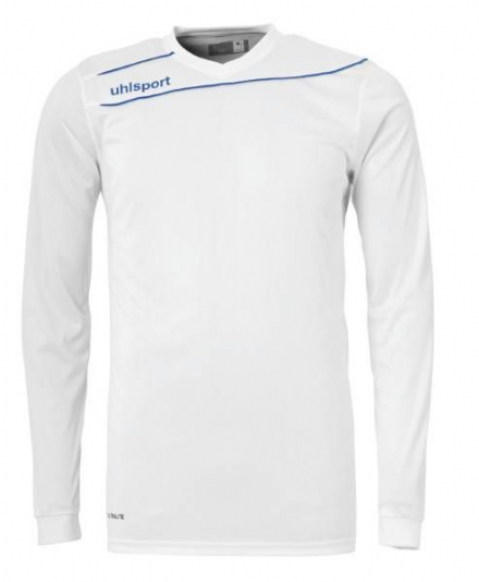 Stream 3.0 Playing Shirt LS White / Azure Blue